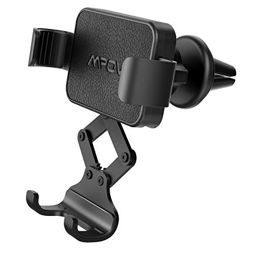 Supporto Automatico Telescopico gravit/à Staffa Air Vent Mount(black-38 2019 Nuovo Auto-Grip Car Phone Mount Universal Auto Air Vent Grip Gravity Car Phone Holder