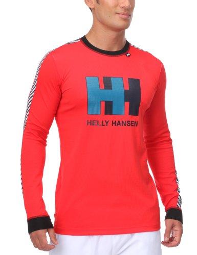 Helly Hansen Technical 48892 Men's Top Base Layer, Fiery red, L