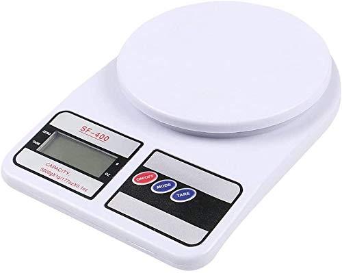Balança de Cozinha Digital (10Kg) - Cor Branco, Bw