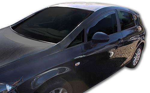 J&J Automotive - Deflectores de viento para Seat Leon 5