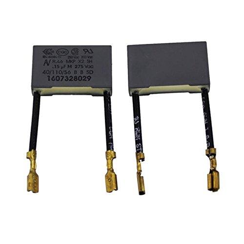 10x Entstörkondensator radial 0,15µF 275V AC ; RM22,5 ; R46KN3150ZI01M ; 150nF