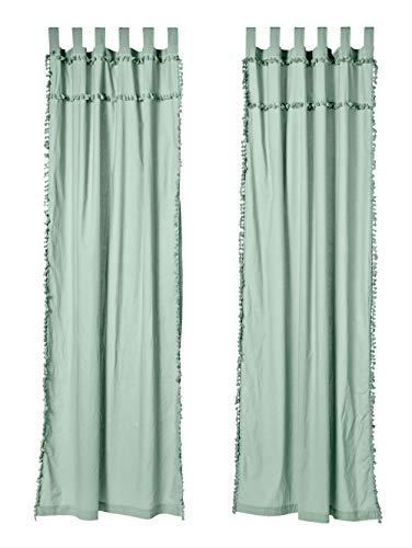 IMPRESSIONEN living Vorhang-Set, 2-TLG. Mint