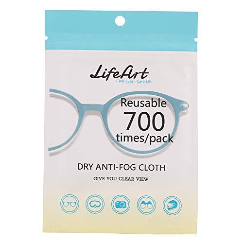 YUYDYU Paño de limpieza de microfibra antivaho para gafas,