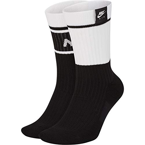 Nike Air SNKR Sox, Calzettoni Unisex Adulto, White, L