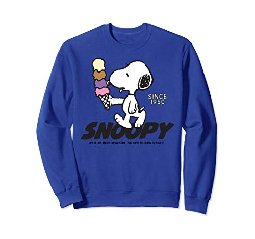 Peanuts Snoopy Ice Cream Cone Sweatshirt