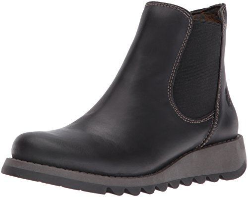 Fly London Damen Salv Chelsea Boots, Schwarz (Black 000), 39 EU