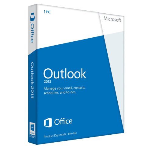 Microsoft Outlook 2013 - 1PC (Product Key Card ohne Datenträger)