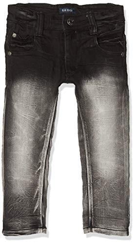 Blue Seven Jungen Jog Jeans, Schwarz (Schwarz Orig 999), (Herstellergröße: 98)