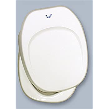 Thetford 36504 White Toilet Seat and Cover