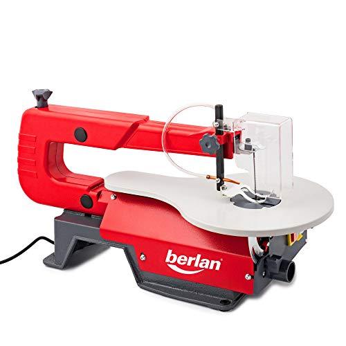 Berlan BDKS120- Scie à chantourner 120 W 406/50 mm pivotante à 45 °