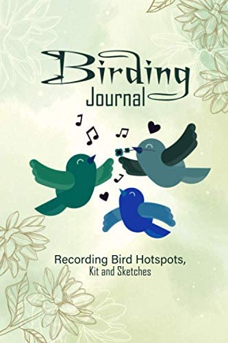 Birding Journal A Pocket Size Birdwatching Twitching Journal to Record Wildlife and Birding product image