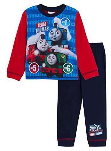 Thomas die kleine Lokomotive Jungen Pyjama lang Gr. 18-24 Monate, Thomas - Team...