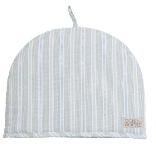 Ochre And Ocre Organic Cotton Tea Cosy - Ledbury Blue Grey