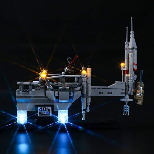 LIGHTAILING Conjunto de Luces (Star Wars Bespin Duel) Modelo de Construcción de Bloques - Kit de luz LED Compatible con Lego 75294(NO Incluido en el Modelo)