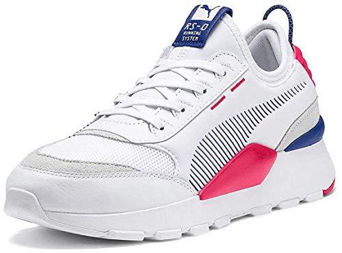 PUMA RS-0 Core Sneaker Herren weiß/pink, 6 UK - 39 EU