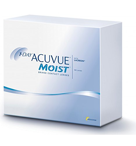 1-day Acuvue Moist – Kontaktlinsen – 1-day Acuvue Moist – 180 Stück
