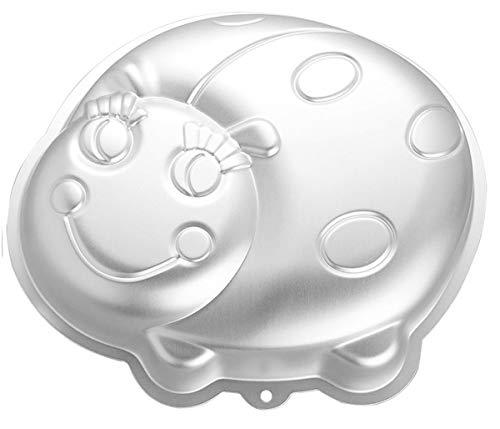 WDYJMALL 25,4 cm Marienkäfer Form Aluminium 3D Kuchen Form Backform Kuchen Form Käfer