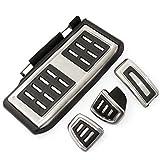 4 unids/Set Coche Embrague Freno Acelerador Pedal Footest Pad Cubiertas/Ajuste para -VW Passat Golf 7 GTI MK7 / Skoda/Octavia A7 /