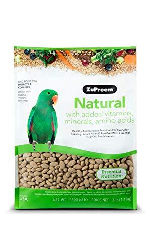 ZuPreem - Alimento para Aves Natural   Pienso Loros - 1,36 kg