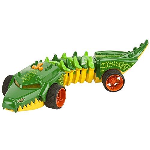 Hot Wheels - Mutant Machine : 2 Asstd, Commander Croc, Color Verde (Toy State 90731)