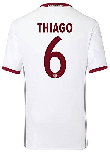 Trikot Adidas FC Bayern München 2016-2017 Champions League (Thiago 6, 140)