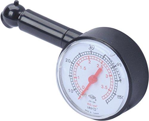 hr-imotion Reifenluftdruckprüfer mit analogem Druckmanometer - 12510201