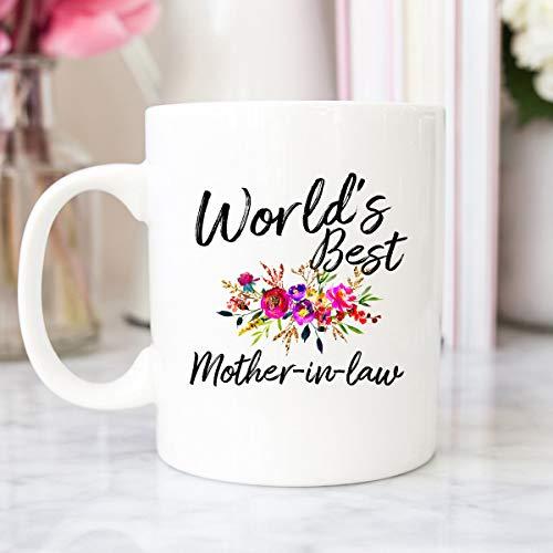 Taza de regalo para suegra, regalo familiar, regalo para suegra, regalo de agradecimiento para suegra