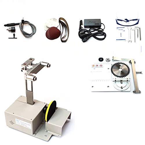 Wenhu Sierra de Mesa Micro Motosierra multifunción Mini máquina de Corte de precisión de Bricolaje carpintería Sierras de Escritorio Cortador Carpintería Sierra