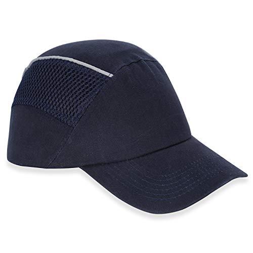 Mufly Baseball Bump Cap-Cappello leggero cappello duro protezione della testa del cappello rigido di sicurezza