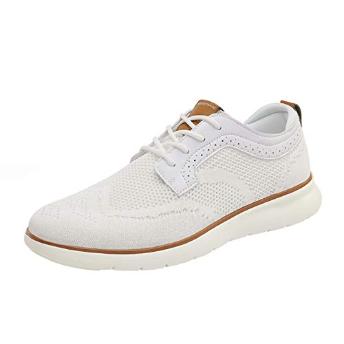 White Casual Oxford Shoes