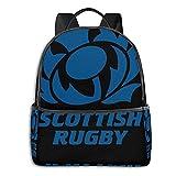 Sweat à capuche de rugby écossais pour étudiant, école, cyclisme, loisirs, voyage, camping