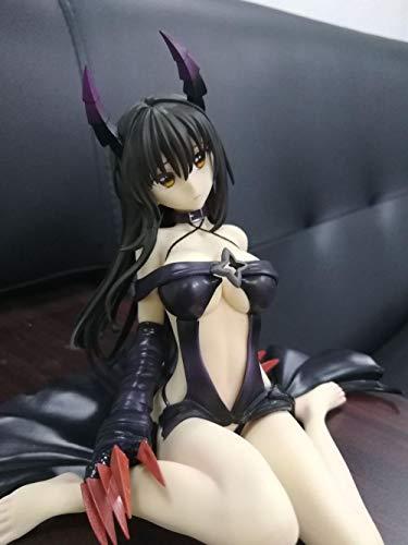 Figuras Anime Baratas La Figura de Furukawa Yui, la versión Oscura de Tolove, no Hace el Amor, Altura Femenina de Aproximadamente 12 cm, Adultos y fanáticos del Anime
