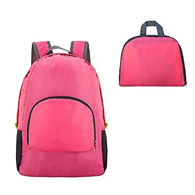 Travel Backpack, Foldable & extralight Water Resistant Packable Backpack Hiking Daypack
