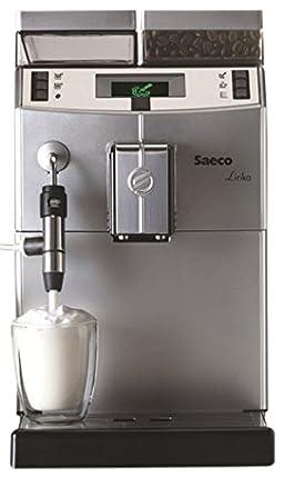 Saeco Lirika Macchiato Independiente Totalmente automática Máquina espresso 2.5L 15tazas Acero inoxidable - Cafetera (Independiente, Máquina espresso, 2,5 L, Molinillo integrado, 1850 W, Acero inoxidable)