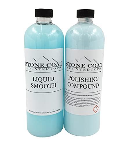 Polishing & Cleaning Kit for Epoxy Resin (Stone Coat Countertops) –...