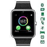 CHEREEKI Bluetooth Smartwatch mit Kamera Unterstützt Sim-Karte & TF-Karte...