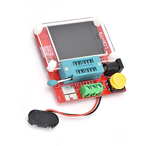 자동 보정 기능을 갖는 LCR-T9 트랜지스터 테스터 모듈 다이오드 TFT 그래픽 디스플레이 테스트 산업 제어 컴포넌트 DC912V