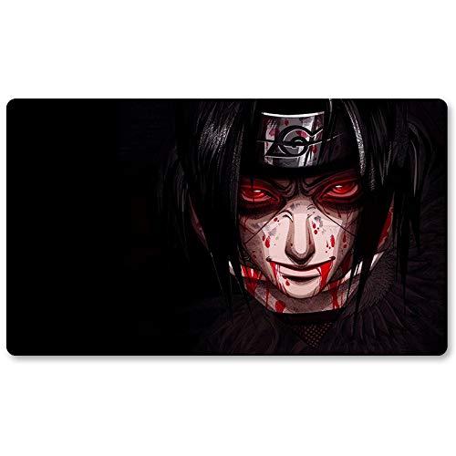 Naruto – Brettspiel Pokemon Spielmatte Spiele Mauspad Tastatur Pad Größe 60 x 35 cm Tischmatten für Yugioh Pocket Monster MTG oder TCG