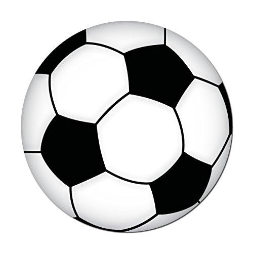 GreenIT Aufkleber Sticker 10cm Ball Bälle Fußball Fußbälle Fußballaufkleber Fußballsticker EM WM (1)