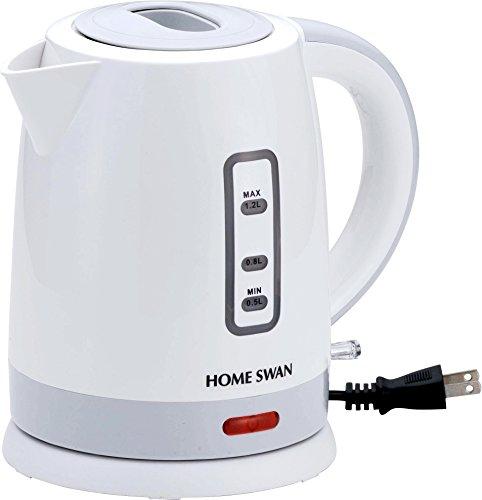電気ケトル1.2L (ホワイト) 【コードレスタイプ/1.2Lの水が約10分で沸きます】