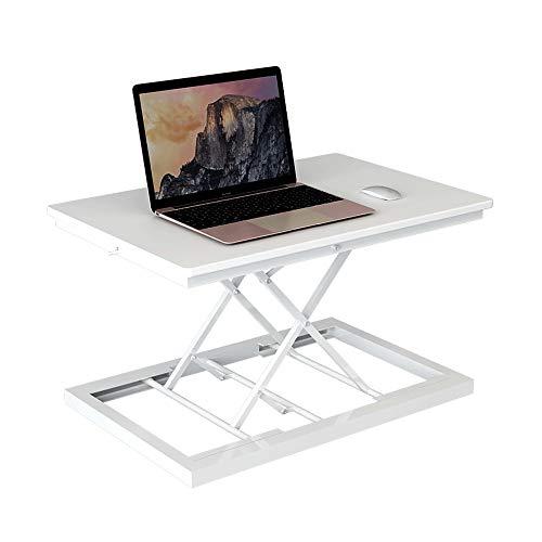 LJHA Faltbarer Laptop-Schreibtisch - Steh-Computer-Hubtisch, Desktop-Computer-Schreibtisch, Faltbarer Notebook-Schreibtisch, Mobile Werkbank, Es Gibt Drei Arten Tabelle (Color : A)