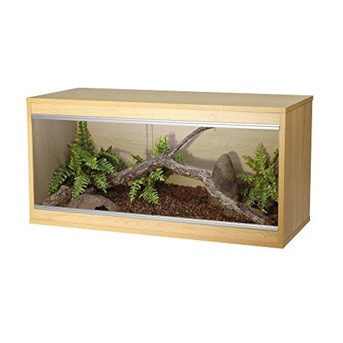 Viv Exotic Repti-Home Terrarium für Reptilien, Buchenholz