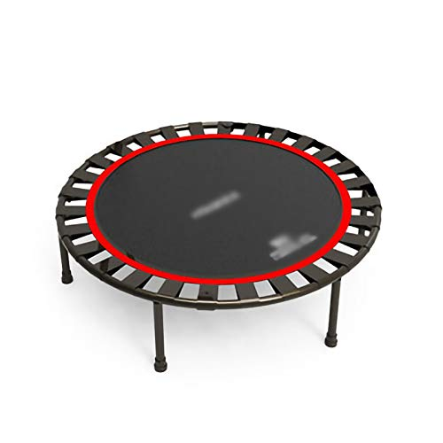 YYLL 40 Inch Trampoline Adult Children's Home Gym Trampoline Children's Entertainment Jumping Bed, Fitness Rebounder (Color : Without armrests)