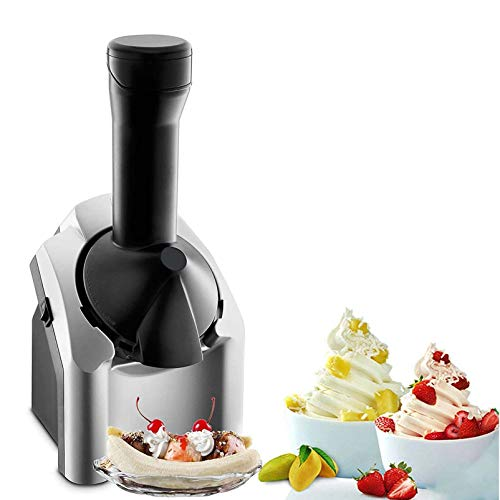 Máquina De Sorvete Caseiro De Frutas, Sorvete Eletrônico De Máquina De Iogurte Congelado Com Cronômetro De Contagem Regressiva, Para Uso Doméstico Portátil Para Sobremesas De Frutas Congeladas