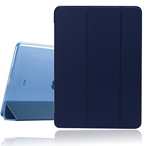 New iPad Case, 2017/2018 iPad 9.7 inch Cover Case with Auto Sleep/Wake Function,Ultra Slim Lightweight Smart iPad Case For Newest iPad Model A1822/A1823/A1893/A1954 (Navy Blue)