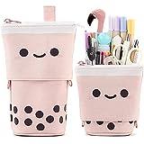 Friinder Jolie trousse télescopique pour stylos, crayons, papeterie, sac à dos transformable, idéale pour les cosmétiques, le maquillage ou le bureau
