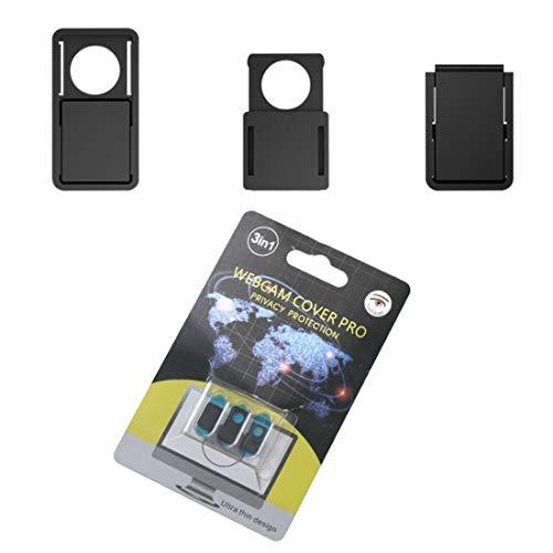 Paquete de 3 Cubiertas para cámara Web, proteja su privacidad y Seguridad, Cubierta Deslizante para cámara Web para computadora portátil, MacBook, PC, teléfono Celular y más Accesorios