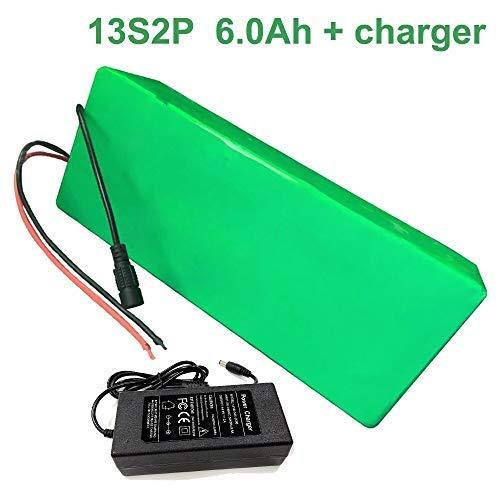 Seilylanka 48V 6Ah 13S2P Li-Ion Paquete de baterías E-Bike Ebike Bicicleta eléctrica Aceptar personalización con Cargador