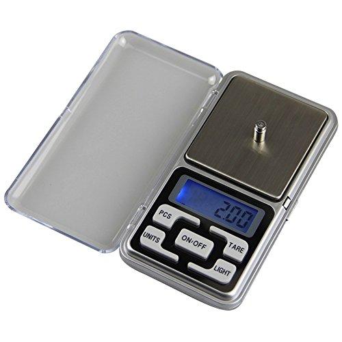 Hense 200g x 0.01 Mini elektronische digitale weegschaal voor juwelier en laboratorium
