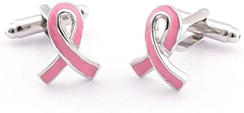Basket Hill Breast Cancer Pink Ribbon Cufflinks product image
